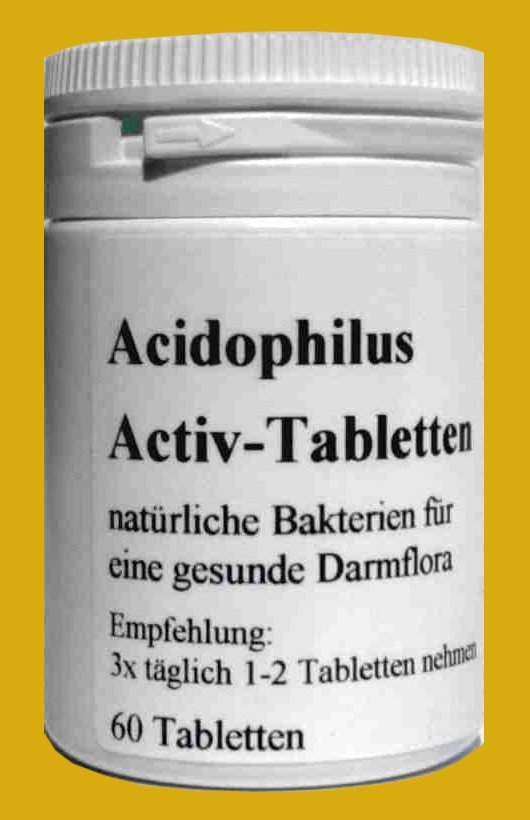 Acidophilus Tabletten